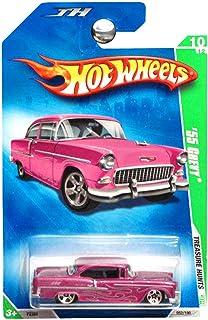 Hot Wheels 2009 Treasure Hunts 1955 Chevy Chevrolet Pink