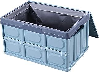 LANHA Plastique Pliable Boîtes De Rangement, Durable étanche Organisateurs De Coffre De Voiture avec Poignée Boîte De Rang...