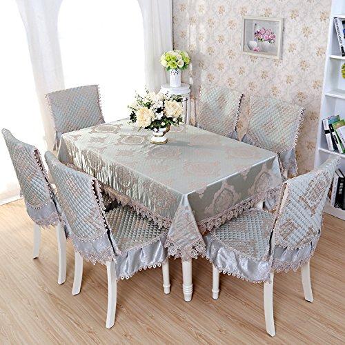 Jacquard Rectangle Nappe circulaire sont utilisés pour les tables de différentes tailles et types et réfrigérateurs machine à laver Table de chevet TV serviette , 130*180