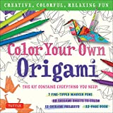 Color Your Own Origami Kit: Crea...