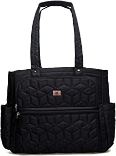 YuHan vattentät baby blöjväska blöjryggsäck byte matta isolerad ficka passform barnvagn Handbag
