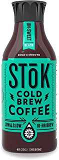 SToK Cold-Brew Iced Coffee, Unsweetened, 48 Ounce