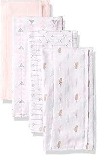 Unisex Baby Cotton Flannel Burp Cloths
