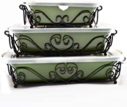 Chef Manal Alalem Temptations Bella Bakeware Set - 9 Pieces - Green