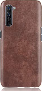 zl one Compatible with/Replacement for OPPO K7 5G PU Leather Case Back Cover (Brown)