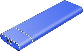 محرك الاقراص الصلبة خارجي سعة 1 تيرابايت 2 تيرابايت - هارد ديسك خارجي محمول سعة 1 تيرابايت لون أزرق - سعة 2 تيرابايت
