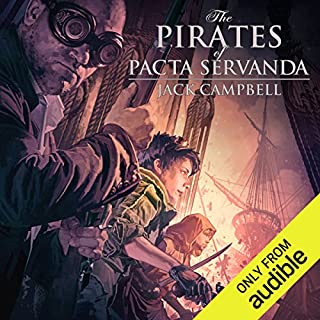 The Pirates of Pacta Servanda     The Pillars of Reality, Book 4              Written by:                                                                                                                                 Jack Campbell                               Narrated by:                                                                                                                                 MacLeod Andrews                      Length: 11 hrs and 32 mins     9 ratings     Overall 4.7