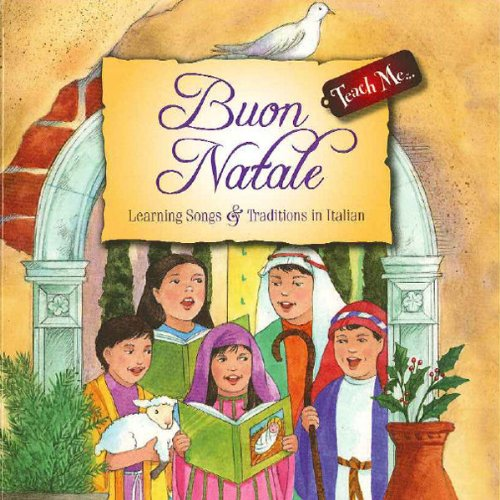 Teach Me Buon Natale audiobook cover art