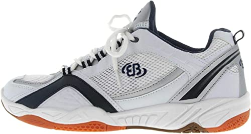 Brütting Chaussures Unisexe Blanc Bleu Chaussures en Matelas Grande Grande Grande Taille 3ab