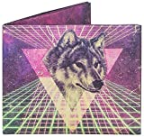 Mighty Wallet | Minimalist Tyvek Wallet | Front Pocket Wallet | Slim Wallet | Space Wolf