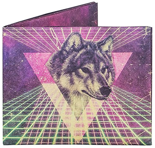 Mighty Wallet | Minimalist Tyvek Wallet | Front Pocket Wallet | Slim Wallet | Space Wolf