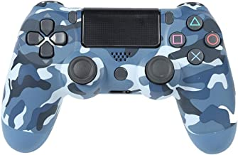 Akaddy Wireless Bluetooth Gamepad Joystick Controller for Sony PS4 (Blue Camo)