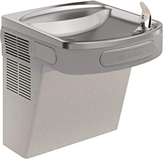 Elkay EZS8L Wall Mount Non-Filtered ADA Cooler, 8 GPH, Light Gray Granite