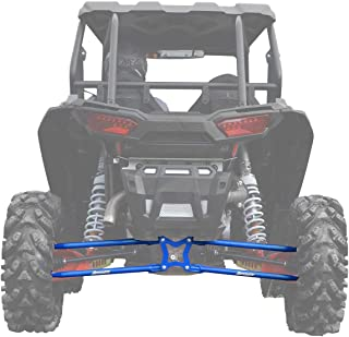 SuperATV Heavy Duty Round Tubed Rear Radius Arms/Rods for Polaris RZR XP 1000 / XP 4 1000 (2014+) - Voodoo/Velocity Blue