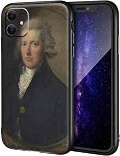 Thomas Gainsborough iPhone 11用ケース/ファインアート携帯電話ケース/高解像度ジクレーレベルUV複製プリント、携帯電話カバー(ウィリアム・ピット)