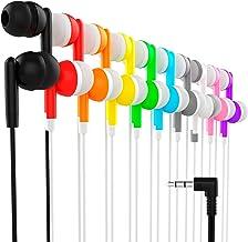 هدفون Maeline Bulk Earbuds با هدفون 3.5 میلی متری - 10 بسته - چندگانه