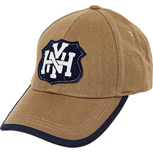 Tommy Hilfiger Emblem Snapback Gorra de béisbol, color caqui