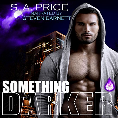 Something Darker audiobook cover art