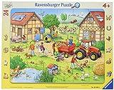 Ravensburger-Mi pequeña Granja Puzzle, Color Amarillo (65820)