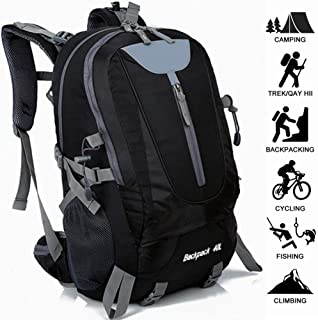 40L Men Hiking Backpack Outdoor Traveling for Mountaineering Camping