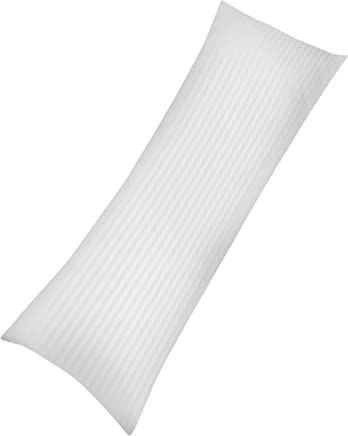 Utopia Bedding Ultra Soft Body Pillow - Long Side Sleeper Pillows For Use During Pregnancy - 100% Cotton Cover with Soft Polyester Filling (Single Pack)