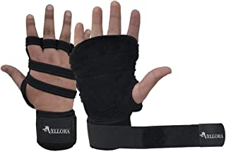 VELLORA Neoprene Grip Gym Gloves for Weight Lifting Gym Gloves Fitness Training Gym Gloves/Functional Hand Protector (Free...