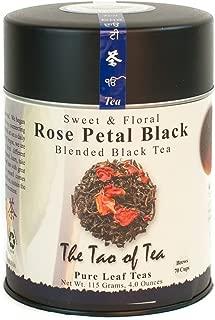 The Tao of Tea, Rose Petal Black Tea, Loose Leaf, 4-Ounce Tin