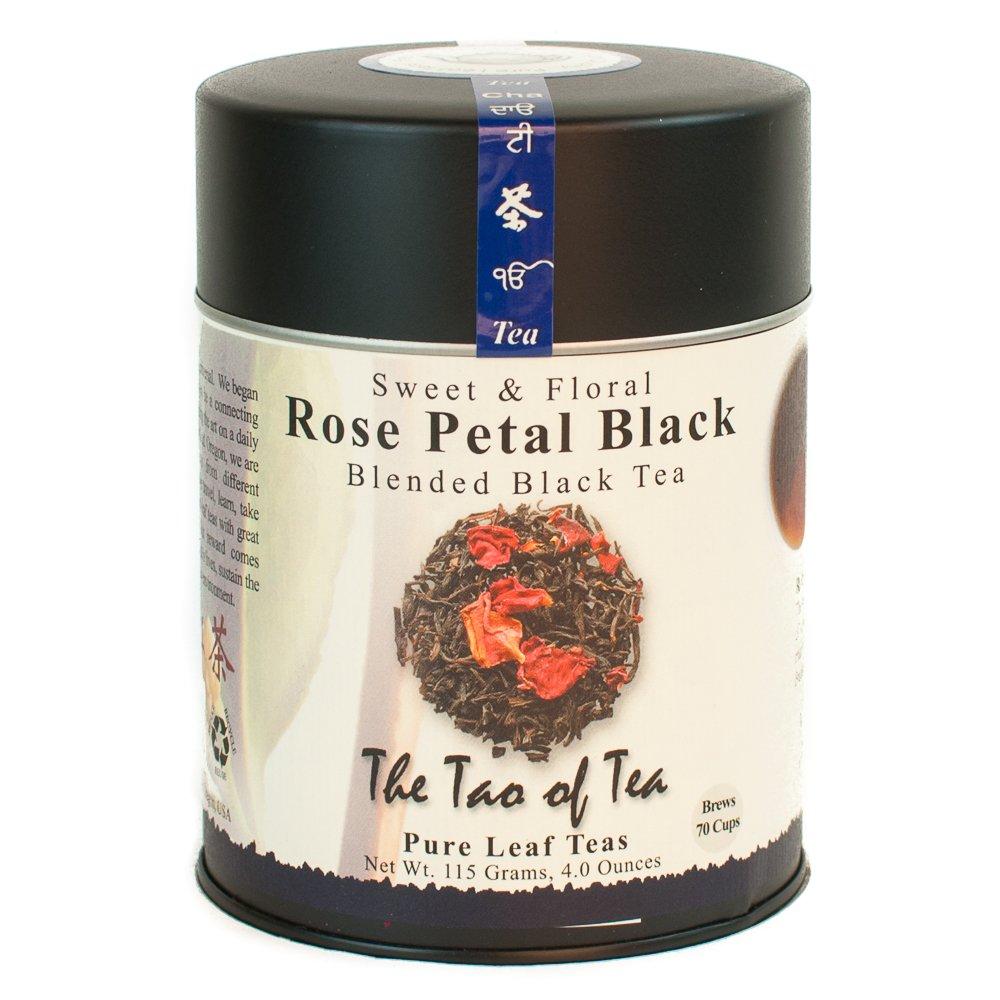 The Tao of Tea Rose Petal Quantity limited Loose 4 Ranking TOP17 Oz Leaf Black