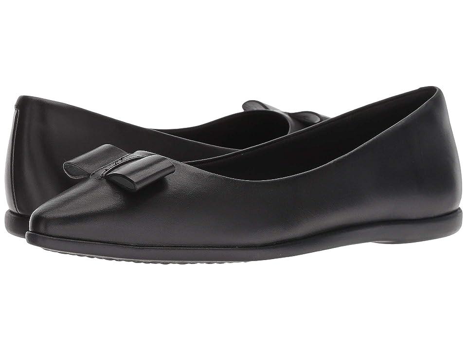 Cole Haan 3.Zerogrand Bow Skimmer (Black Leather) Women