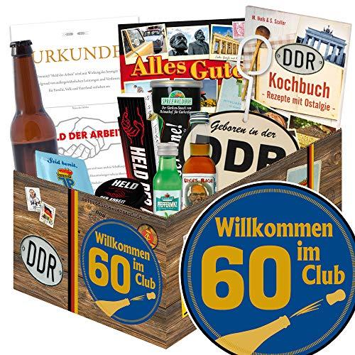 Wilkommen im Club 60 / Geburtstag 60 Mama / Geschenke Mann DDR
