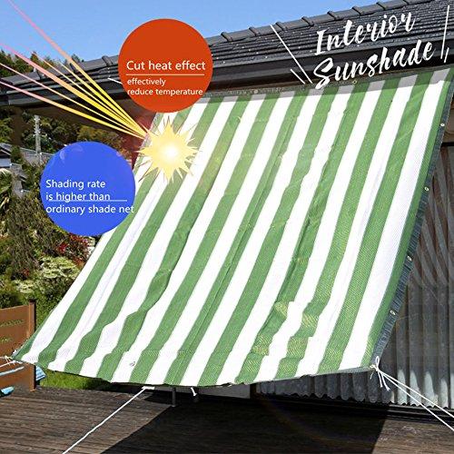 XYLUCKY Bloc UV De Couleur Verte De Rectangle De Voile D'auvent De Voile De Sun pour Le Jardin Extérieur De Patio,4 * 5M