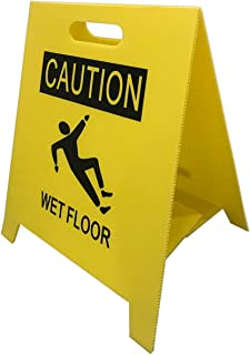 Fanboxk 2-Pcs Yellow Caution Wet Floor Sign, 2-Sided...