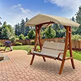 Wooden Point Swing Replacement Canopy Top Cover- RipLock 350
