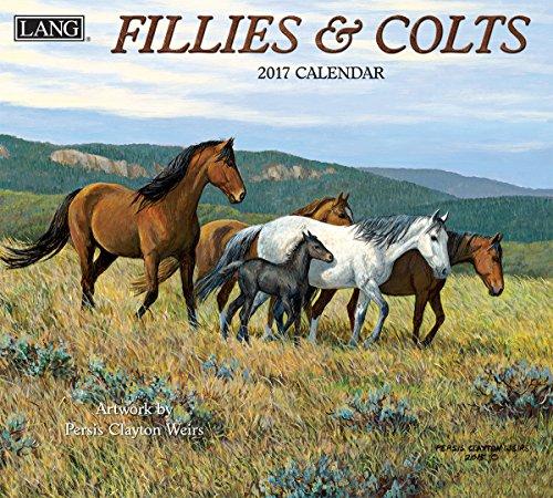 Lang 2017 Fillies & Colts Wall Calendar, 13.375 x 24 inches (17991001910)