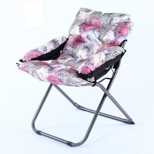 edición limitada Silla Rollsnownow Luz púrpura Floral patrón patrón patrón PP algodón sofá enfermería Mantener cálida Individual Plegable computadora  ¡No dudes! ¡Compra ahora!