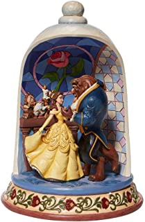 Enesco Disney Traditions Beauty and The Beast Rose Dome Figurine