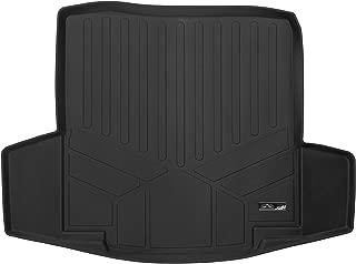 SMARTLINER Cargo Trunk Liner Floor Mat Black for 2016-2018 Chevrolet Malibu (No Hybrid or 2016 Malibu Limited Models)