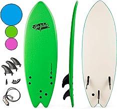 "Goplus 5'5"" Surfboard, Soft Top Surf Board, Lightweight Bodyboard Surfing.."