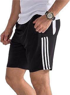Hombre Pantalón Corto Pantalones Deportivos Fitness Bolsillos Pantalón Corto Deporte Respirable Holgado Shorts Running Sho...