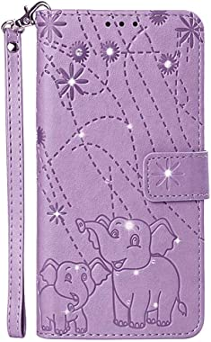 LindaCase PU Leather Flip Cover Compatible with iPhone 11 Pro Max, Purple Wallet Case for iPhone 11 Pro Max