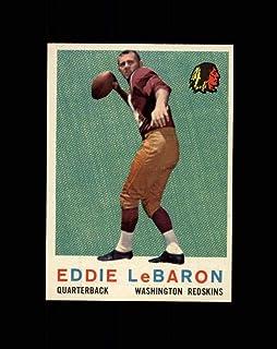 Verzamelkaarten, ruilkaarten 1959 Topps #150 Eddie LeBaron Washington Redskins Football Card Verzamelkaarten: sport