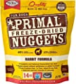 Primal Pet Foods Freeze-Dried Canine Rabbit Formula, 14 Oz