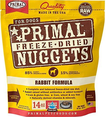 Primal Pet Foods Freeze-Dried Canine Rabbit Formula