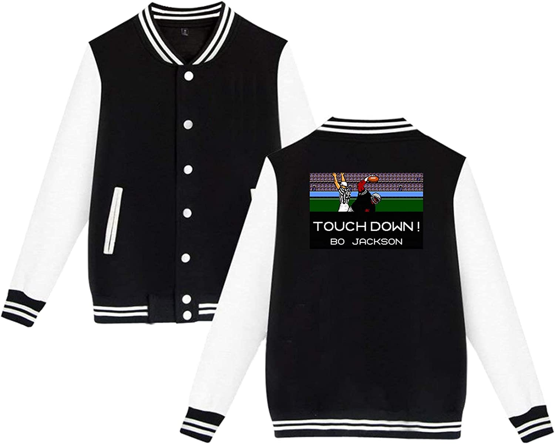 PELETNNTO Tecmo Bowl NEW before selling ☆ Barry Sanders New products, world's highest quality popular! Sport Jacket Uniform Baseball