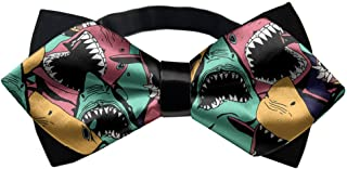 YEAHSPACE Elegant Shark Seamless Adjustable Bow Tie outfits For Teen