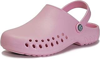 Unisex Zuecos Hombres Mujer Zapatillas de Playa Ahueca hacia Fuera Las Sandalias Verano Zapatos de Jardín Ultra-Ligeras Clogs
