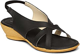 PARAGON SOLEA Plus Women's Black Sandals