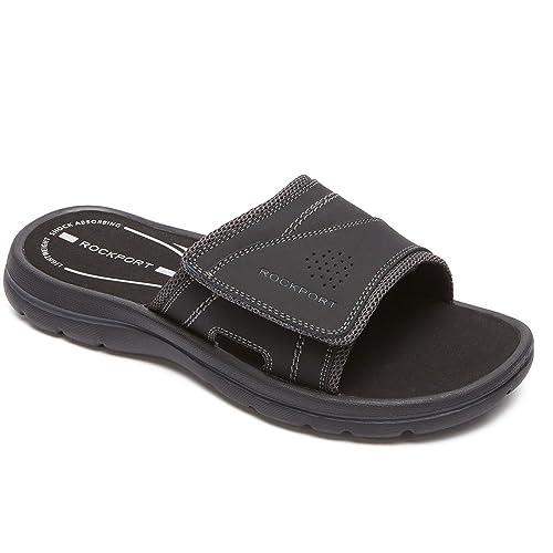 b31b1872b1fc Rockport Men s Get Your Kicks Slide Flat Sandal