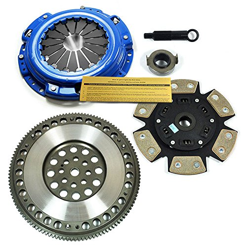 EFT STAGE 3 CLUTCH KIT & 4140 CHROMOLY FLYWHEEL FOR HONDA F22A F22B1 F23A H22A H23A