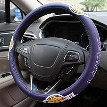 lakers steering wheel cover
